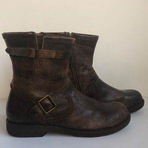 Bed Stu distressed leather men's boots size 9